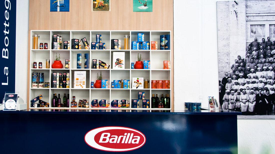 produits stand barilla