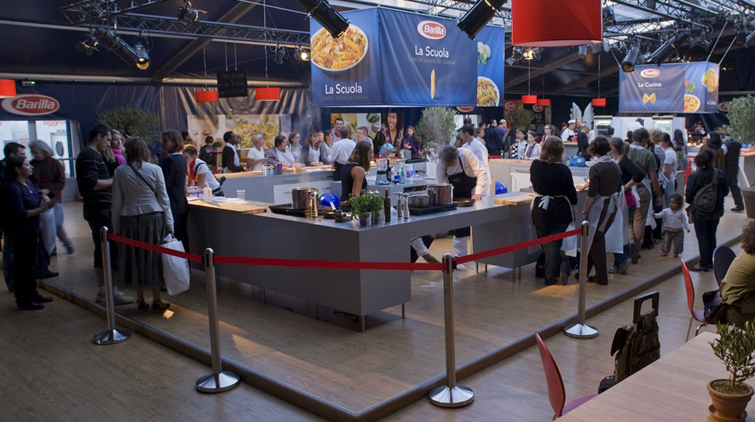 pop-up store barilla