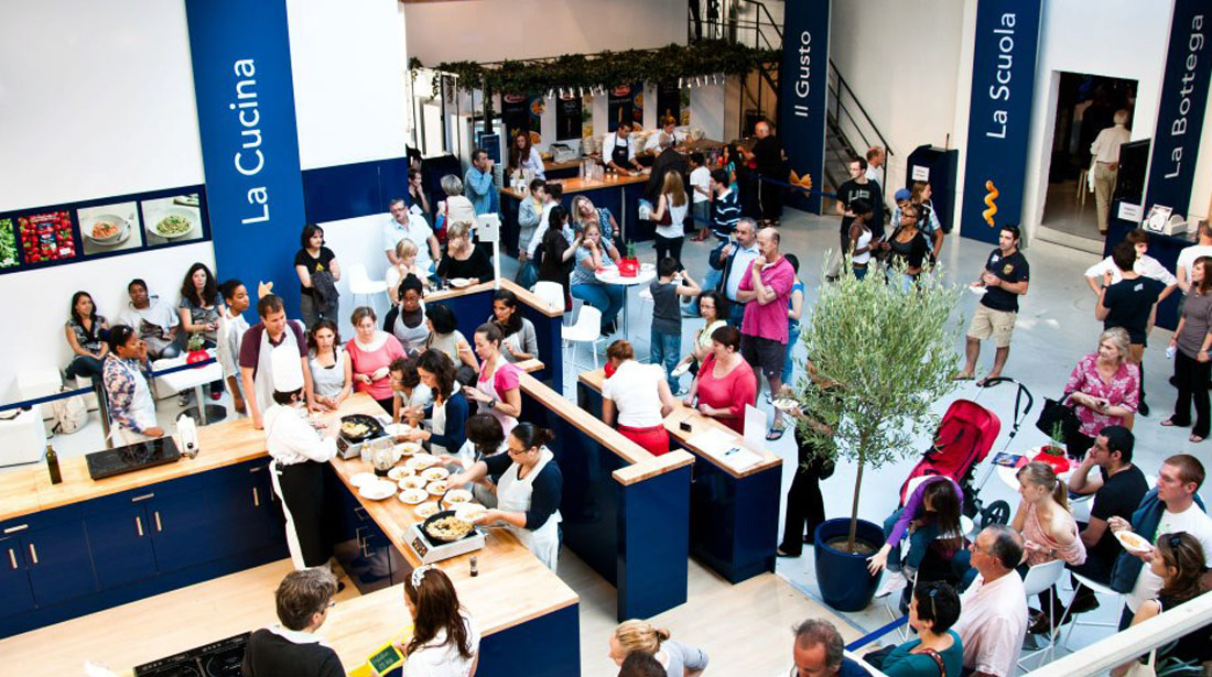 événement pop-up store barilla